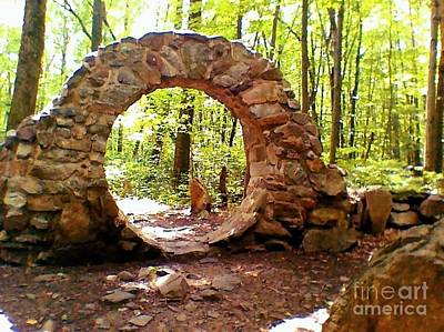 Photograph - The Portal To Love Life Peace by Becky Lupe