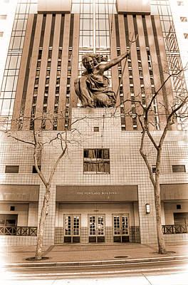Photograph - The Portland Building - Oregon by Spencer McDonald