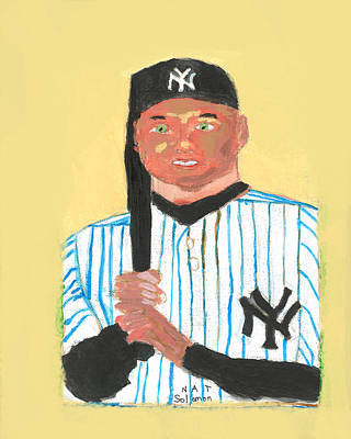 The Portrait Of Derek Jeter Original