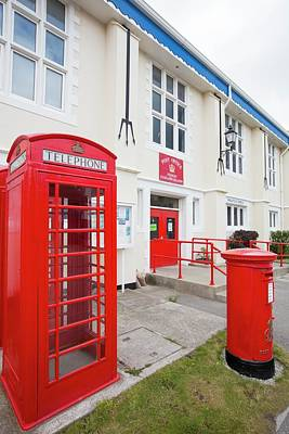 Post Box Photograph - The Post Office In Port Stanley by Ashley Cooper