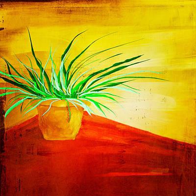 The Pot Plant Art Print