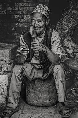 Photograph - The Potter by Valerie Rosen