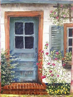 Painting - The Potting Shed by Margie Perry