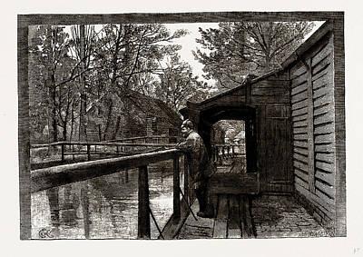 The Powder Mills, Waltham, Uk Art Print by Litz Collection