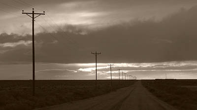 Photograph - The Power Lines by Daniel Woodrum
