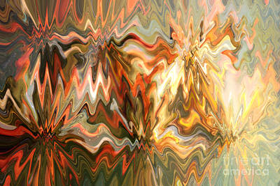 Abstract Photograph - The Power Of Light by Carol Groenen
