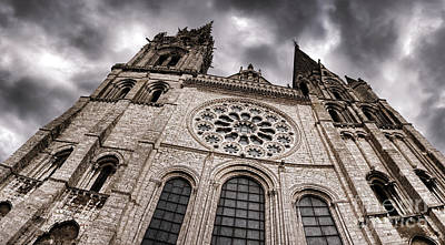 The Power Of The Church Art Print by Olivier Le Queinec