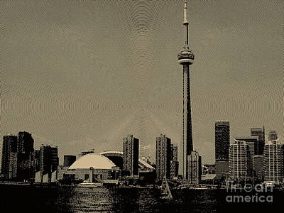 Photograph - Cn Tower Power by Nina Silver
