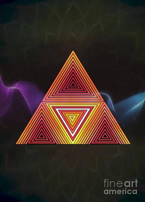 The Power Triangle Original by Paulo Sezio De Carvalho