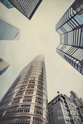 Manhattan Street Photograph - The Powers Above by Evelina Kremsdorf