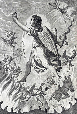 The Powers, Heavenly Governors Print by Folger Shakespeare Library