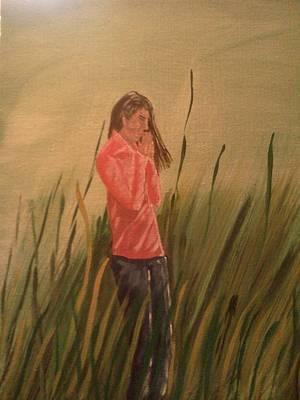 The Prayer Art Print by Renee McKnight