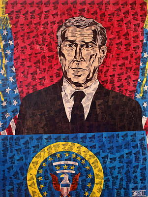 Painting - The Presidential Puppet by Brent Andrew Doty