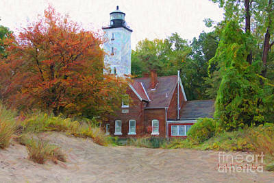 The Presque Isle Lighthouse Art Print
