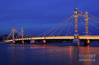 The Prettiest Bridge In Town. Art Print by Pete Reynolds