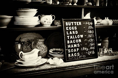 The Price List Art Print by Paul W Faust -  Impressions of Light