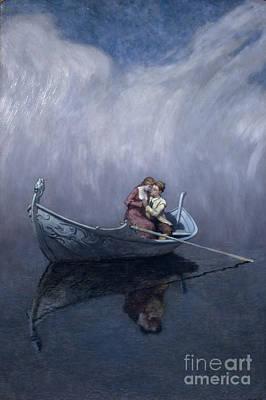 Comfort Painting - The Princess And Half The Kingdom by Christian Skredsvig