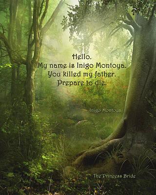 The Princess Bride - Hello Art Print
