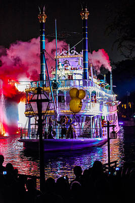 Beauty Mark Photograph - The Mark Twain Disneyland Steamboat  by Scott Campbell