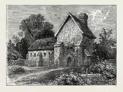The Priory, Kilburn Art Print by Litz Collection