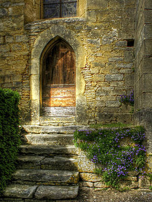 The Private Entrance Art Print by Douglas J Fisher