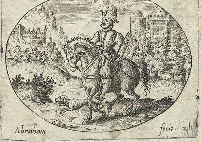 Equestrian Clothes Drawing - The Prodigal Journey, Abraham De Bruyn by Abraham De Bruyn