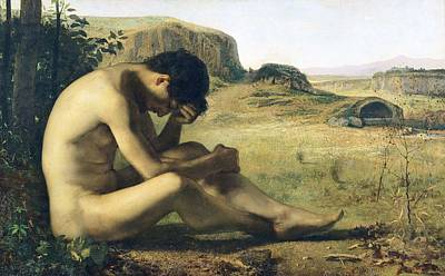 Sadness Painting - The Prodigal Son  by Emile Salome
