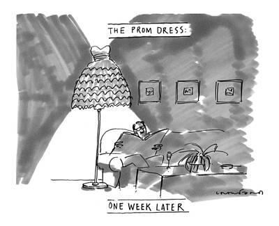 'the Prom Dress: One Week Later' Art Print