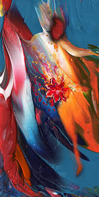 Painting - The Proposal by Miki De Goodaboom