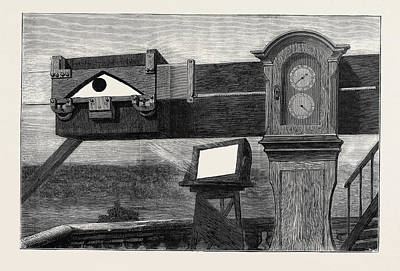 Practice Gallery Drawing - The Proposed National Museum Of Patents The Transit Of Venus by English School