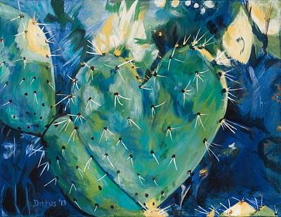 Painting - The Protected Heart by Chrissey Dittus