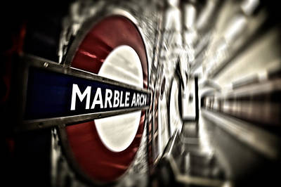 The Tube Wall Art - Photograph - The Public Gets What The Public Wants... by Russell Styles