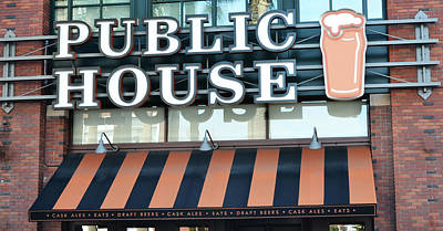 Photograph - The Public House by Holly Blunkall