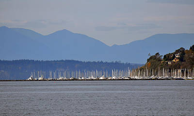 Painting - The Puget Sound by Kirt Tisdale