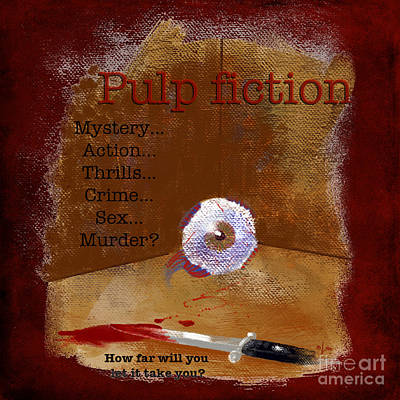The Pulps Art Print
