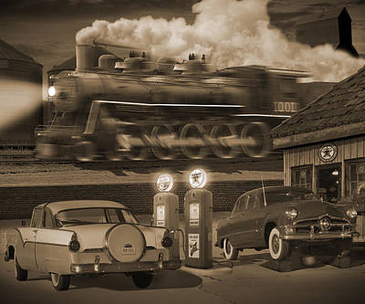 Transportation Royalty-Free and Rights-Managed Images - The Pumps 2 by Mike McGlothlen
