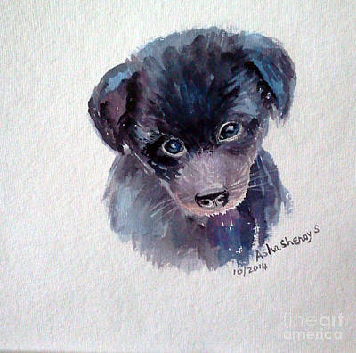 The Puppy Art Print