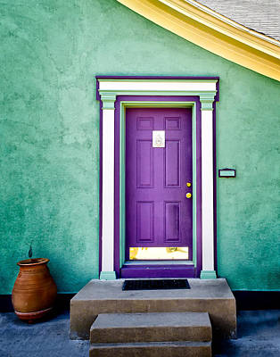 The Purple Door Art Print