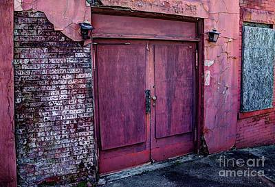 Photograph - The Purple Doors by Paul Mashburn