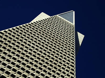Downtown Area Photograph - The Pyramid by Bill Gallagher