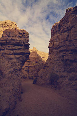 Anza Borrego Desert Photograph - The Pyramid by Laurie Search