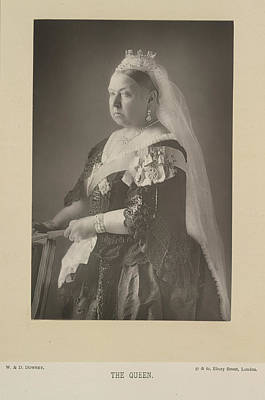 Aristocrat Photograph - The Queen by British Library