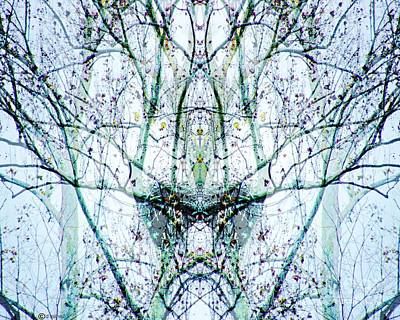Digital Art - The Queen Of Everything by Lizi Beard-Ward