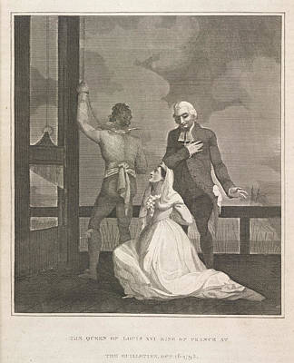 French Revolution Photograph - The Queen Of Louis Xvi by British Library