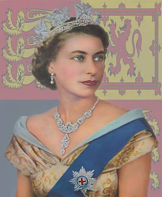The Queen Art Print by Roy  McPeak