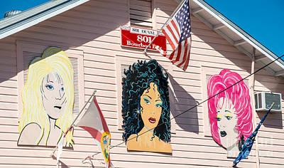Bourbon Street Photograph - The Queens - 801 Bourbon Bar - Key West  by Ian Monk