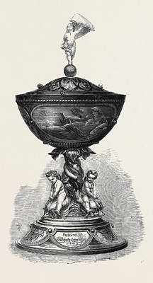 The Queens Cup Won By Mr Art Print