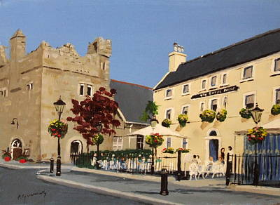 The Queens Dalkey Art Print