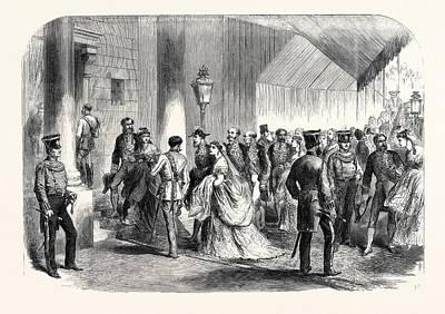 The Queens Drawingroom The Ambassadors Entrance Buckingham Art Print