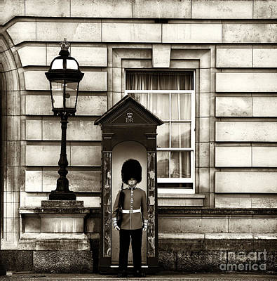 Photograph - The Queen's Guard by John Rizzuto
